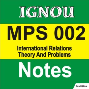 MPS 002 Study Notes