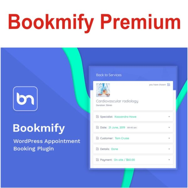 BookmifyPlugin – simple, functional, powerful and modern! Our online scheduling software has everything you need to grow and manage your business in one easy to use and powerful user interface.