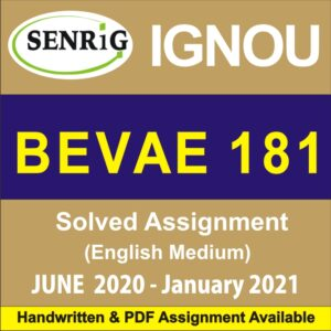 bevae 181 solved assignment in hindi; bevae 181 assignment 2020-21 pdf; bevae 181 assignment 2020 pdf; bevae 181 assignment 2020 pdf download; begae 182 assignment 2020-21; ignou bevae 181 assignment 2020-21; bevae-181 assignment questions; bevae 181 assignment 2020 in hindi