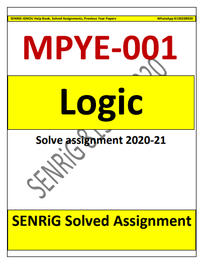 MPYE 001 Solved Assignment 2020-21 in English Medium; ignou mapy solved assignment pdf; ignou ma philosophy solved assignment pdf; ignou mapy assignment 2020; ma philosophy solved assignment 2018-19; ignou mcom assignment 2020-21 solved pdf; solved papers of ma philosophy ignou; ignou ma philosophy assignment 2019; ignou mapy 2020