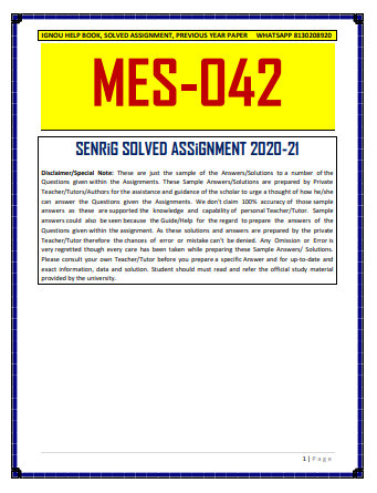 MES 042 Solved Assignment 2020-21 in Hindi Medium; maedu ignou assignment 2020; ignou maedu solved assignment 2020 pdf; ignou solved assignment 2020-21; ignou assignment 2020-21 ma hindi; ma 2nd year assignment 2020; ignou ma hindi solved assignment 2020-21; ma education assignment 2020; ignou b com solved assignment 2020-21