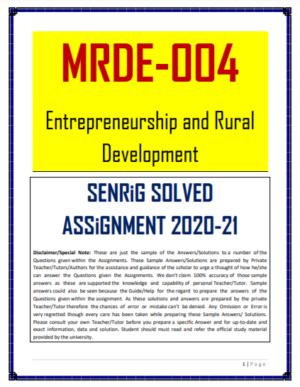 MRDE 004 Solved Assignment 2020-21 In English Medium; che 9 solved assignment 2020 free pdf download; blis solved assignment 2019-20 free download; lse-5 solved assignment 2020 free download; mard solved assignment 2021; mrd 101 assignment solved for july 2021; ignou solved assignment free of cost; ignou solved assignment 2019-20 free download; download ignou free solved assignment