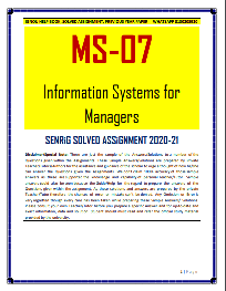 MS 07 Solved Assignment 2020-21 in English Medium; ms-08 ignou; ignou ms 07 question papers; ms-07 ignou study material; ms-42 ignou; ms-8; ms-424 ignou; ms-64 ignou study material; ms09 ignou