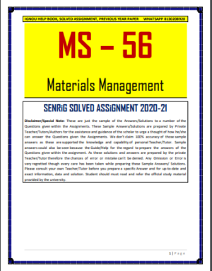 MS 56 Solved Assignment in English Medium; ignou; ms-57 ignou study material; ms-56 ignou study material; ms-58 ignou study material; ms 61; ignou pgdom study material; ms-62 ignou study material; ms-65 ignou study material