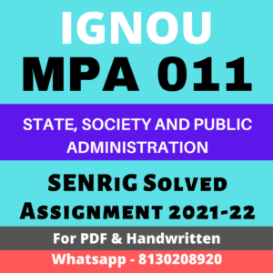 MPA 011 Solved Assignment 2021-22 In English Medium; mpa-011 solved assignment free download; mpa 11 solved assignment 2021; ignou mpa solved assignment 2019-20 free download; mpa 17 solved assignment; mpa 15 solved assignment; assignment solved 2021; guruignou solved assignment 2020-21; mpa 11 ignou question papers